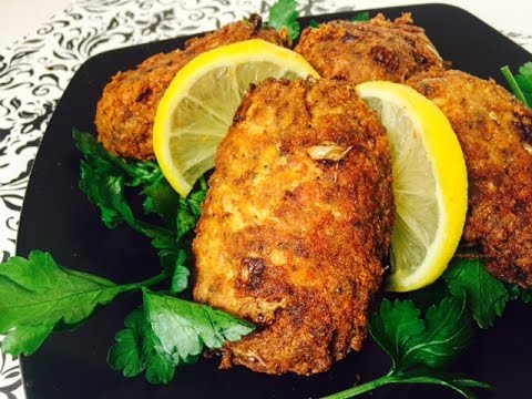 HOW TO MAKE SALMON CROQUETTES (LOW CARB)