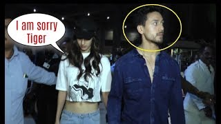 Tiger Shroff ANGRY On Disha Patani After Baaghi 2 Promotion In Delhi