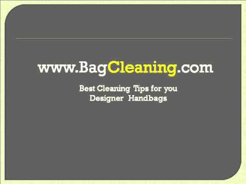 Learn how to clean Chanel bag in 30 seconds at BagCleaning.com