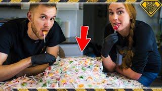 Can Melting 1,000 Lollipops Make One MASSIVE Lollipop?