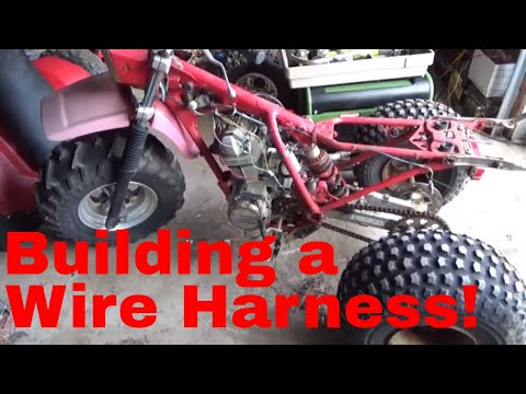 How to wire a Honda ATC 200S Motor to a 200X ignition harness!