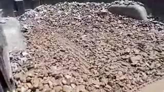 River Rock Installed