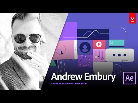 Live Motion Design with Andrew Embury 1/3