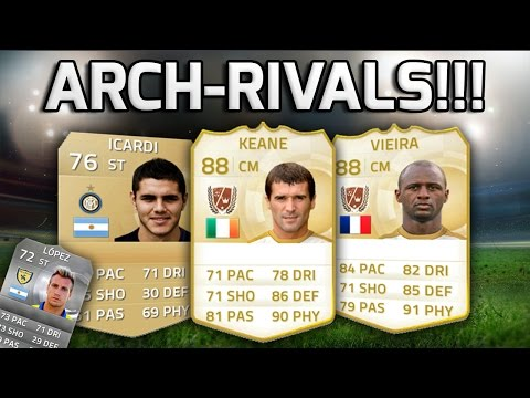 FIFA 15 - ARCH-RIVALS!!! - A Team Of Enemies In Football