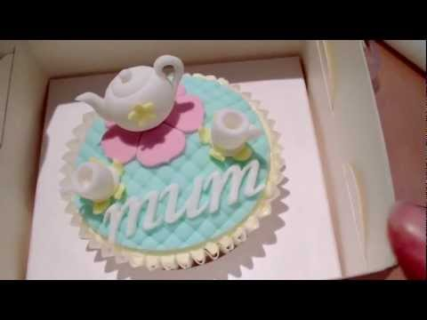 How to Make Fondant Letters - Using FMM Italic Letters In Lower Case