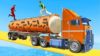 DEFEND THE TANKER OR LOSE! - GTA 5 Funny Moments