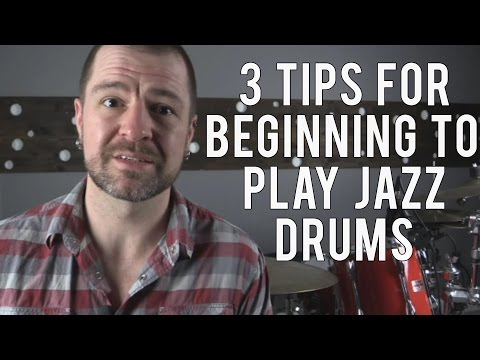3 TIPS FOR BEGINNING TO LEARN JAZZ DRUMS - Diddles & Beats #12