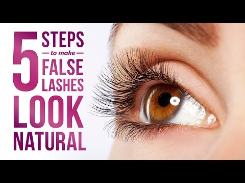 5 Steps To Make False Eyelashes Look Natural | Pretty Smart