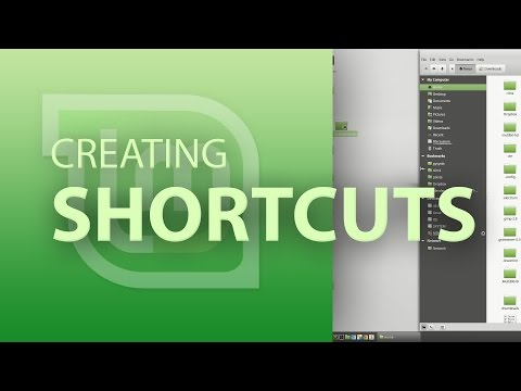 How to create shortcuts in Linux Mint