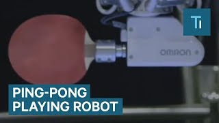 This Robot Is A Ping-Pong Master