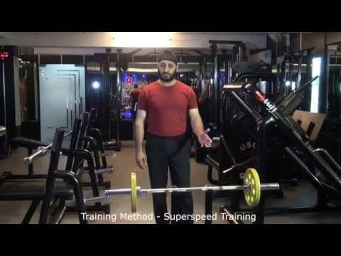 Training Method - Superspeed Training