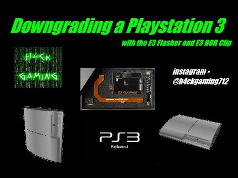 E3 Flasher Full Playstation 3 Downgrade