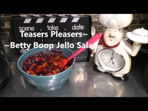 ~Betty Boop Jello Salad~