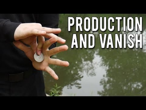 2 easy coin tricks revealed - Coin production and vanish tutorial - Friction