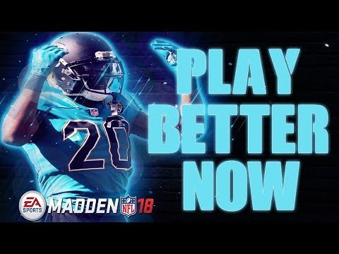 I CAN MAKE YOU A BETTER MADDEN PLAYER...RIGHT NOW!! (MADDEN 18)