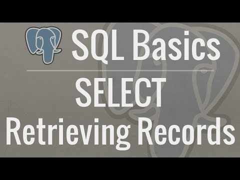 SQL Tutorial for Beginners 4: SELECT - Retrieving Records from Your Database