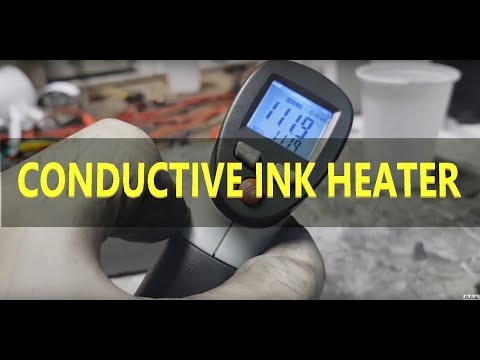 Conductive Ink - Capacity swich and conductive ink Heater