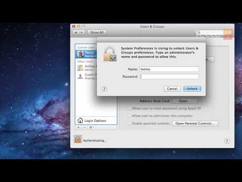 Just Show Me: How to change your password on your Mac