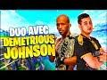 JE JOUE AVEC UN COMBATTANT DE MMA SUR FORTNITE !!! (Training E3)