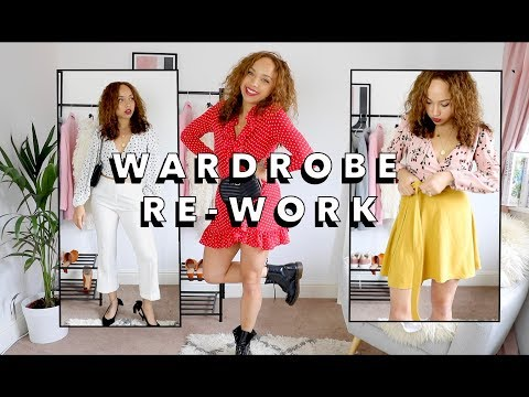 Summer outfits you already own! | WARDROBE RE-WORK