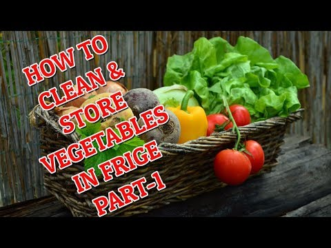 How To Store Vegetables In Fridge For Long Time In Hindi | How To Store Vegetables In Fridge  PART-1