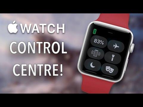 Apple Watch User Guide & Tutorial! (Apple Watch Control Center & Settings!)