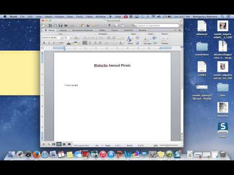 How to make a flyer in microsoft word 2011 for mac