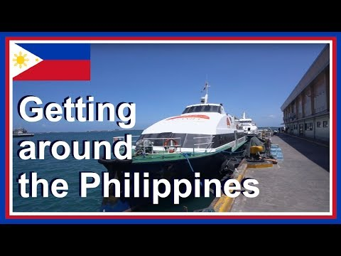 Getting around PHILIPPINES - SIARGAO to CEBU Mactan Airport - Cebu OCEANJET to BOHOL Tagbilaran Port
