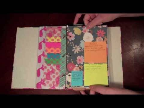 Planner Tour // DIY Affordable Agenda