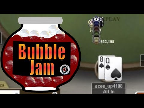Small Blind Jamming Considerations | Poker Bubble play