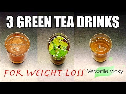 3 Green Tea Recipes For Weight Loss   Iced / Cold Green Tea Recipe