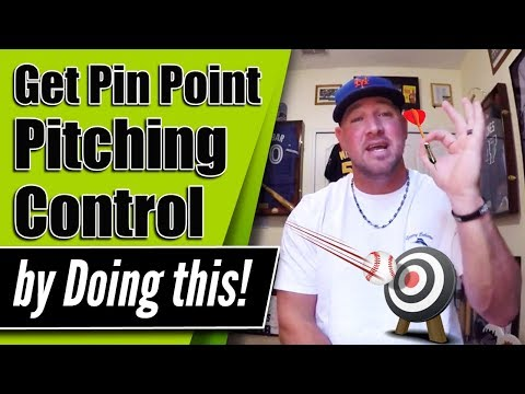 How to increase Pitching Accuracy and have Pin Point Pitching Control