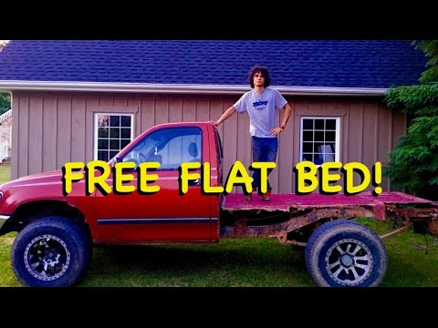 Flat Bed on a $0 budget! (DIY)