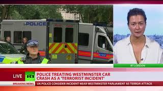 London Parliament incident: Crash treated as terrorist incident – Met police