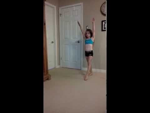 Beginner steps to learn how to do a front walkover