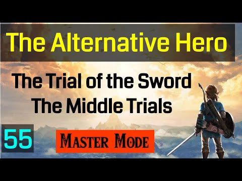 Master Mode Breath of the  Wild - The Middle Trials are so Fun! - 055