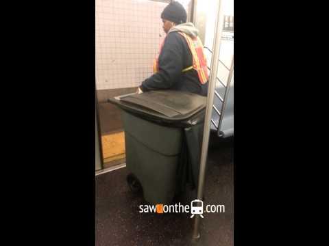 Subway MTA clean up~