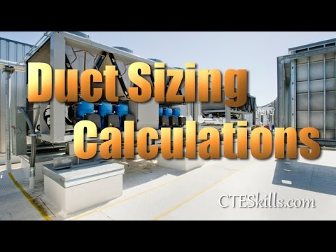 Calculating Duct Size