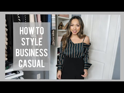 STYLISH BUSINESS CASUAL ESSENTIALS   STYLE