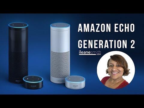 Unboxing the Amazon Echo 2nd Generation