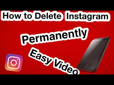 How to delete Instagram account permanently in the computer ? part 1
