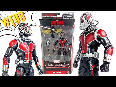 MOVIE ANT-MAN Marvel Legends vs Marvel Select Action Figure Comparison