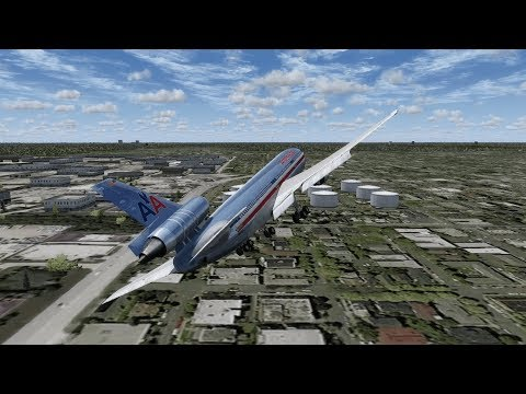 Disaster At O'Hare - American Airlines Flight 191 - P3D