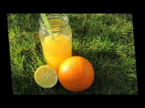 how to make squash juice, squeeze orange and lemon without a juicer