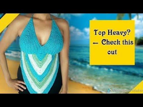 Crochet Halter Top tutorial for beginners (2018) Beginner Friendly