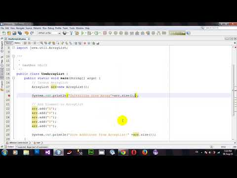 How to Use ArrayList Add Remove in Java Netbeans