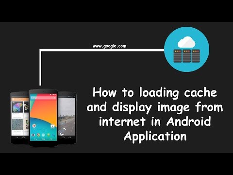 How to Loading Caching to Image from url in Android App with quick easy step | Android tutorials.