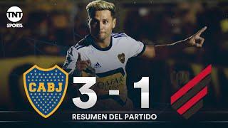 Resumen de Boca Juniors vs Athletico Paranaense (3-1) | Fútbol Internacional de verano 2020