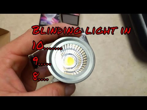 GU10 LED light for track lighting replacement LED bulb to save energy