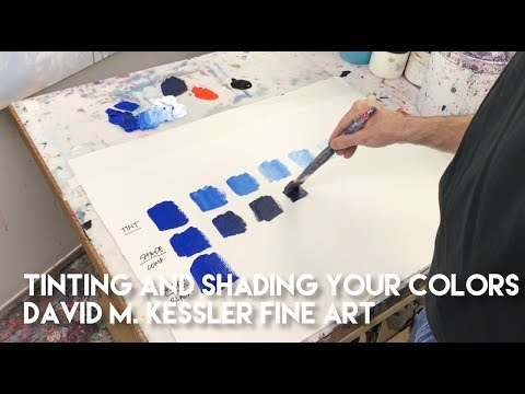 Tinting and Shading Your Colors